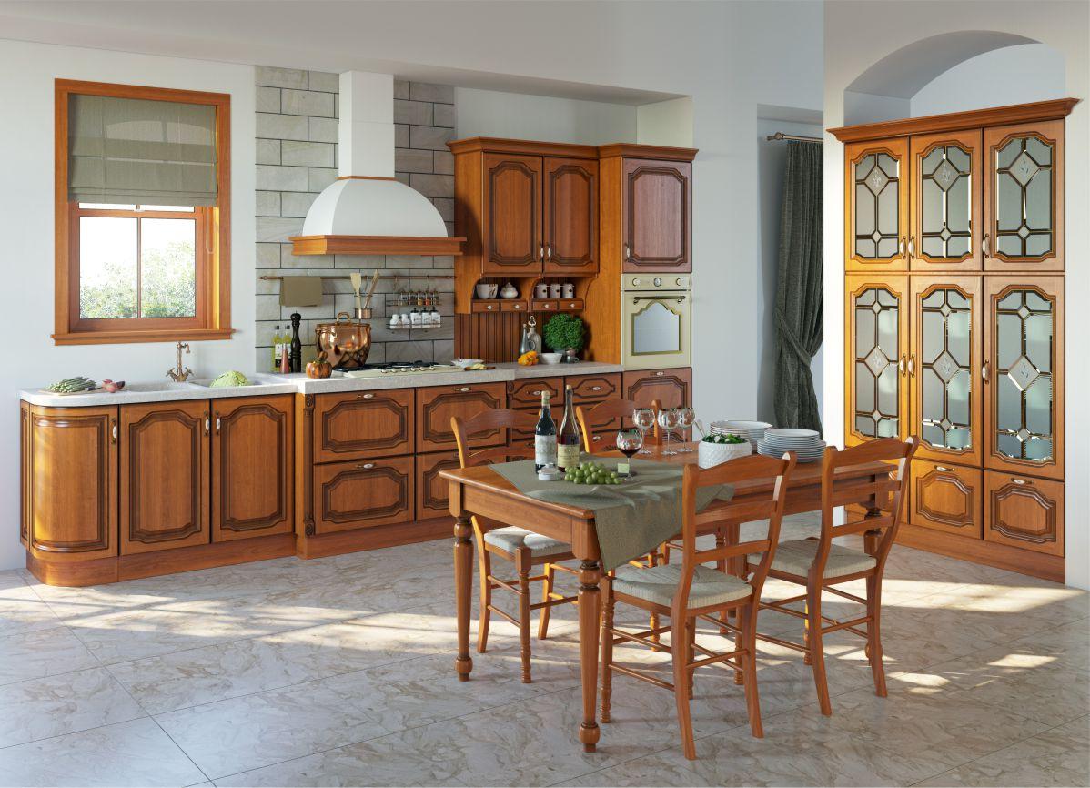 Большая кухня Виктория