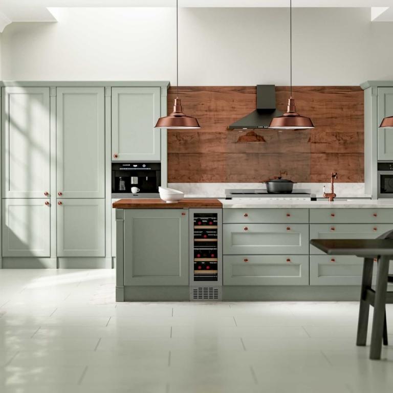 Красивая стильная кухня